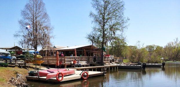 Champagnes Cajun Louisiana Swamp Tours Dock