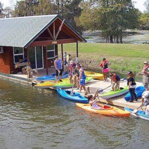 Kayak Floating Deck Lake Martin La